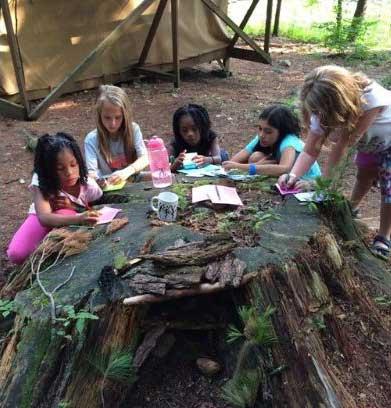 Camp Little Notch campers