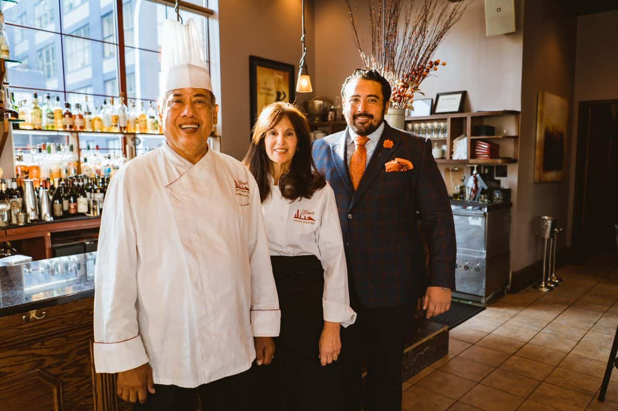Yono, Donna, and Dominick Purnomo